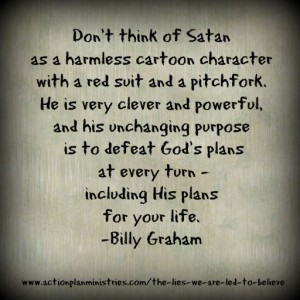 Don't think of Satan