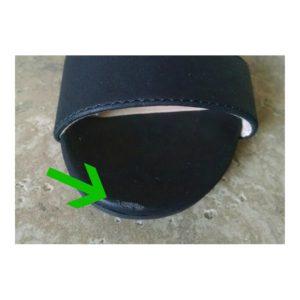 shoe scratch