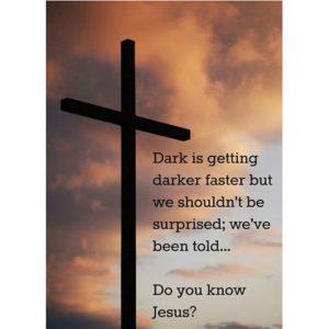 Dark is getting darker