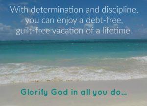 Debt-free vacation