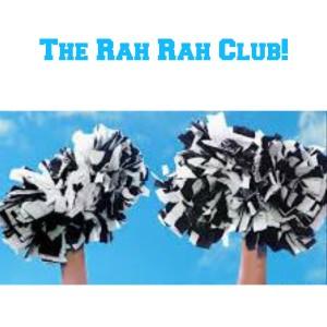 The Rah Rah Club ecard for inside post