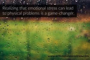 Realizing that emotional stress