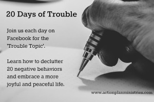 20 Days of Trouble - blog pic
