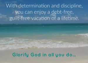 Debt-free vacation